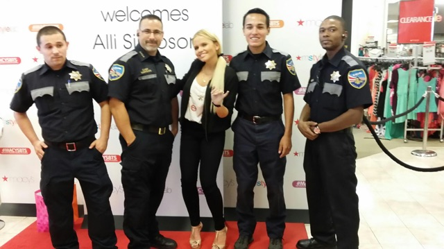 Alli Simpson Event Security
