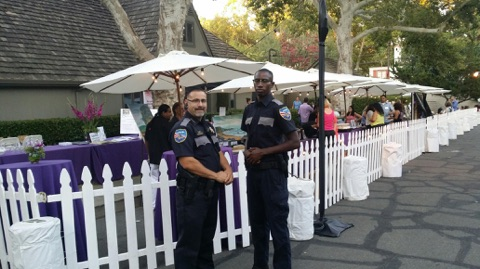 Wine Tasting Event Security